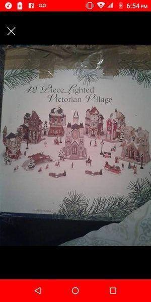 42 piece Victorian village for Sale in Alexandria, VA