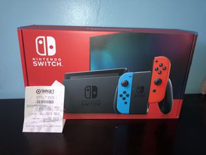 nintendo switch blue and red for Sale in Fairfax, VA