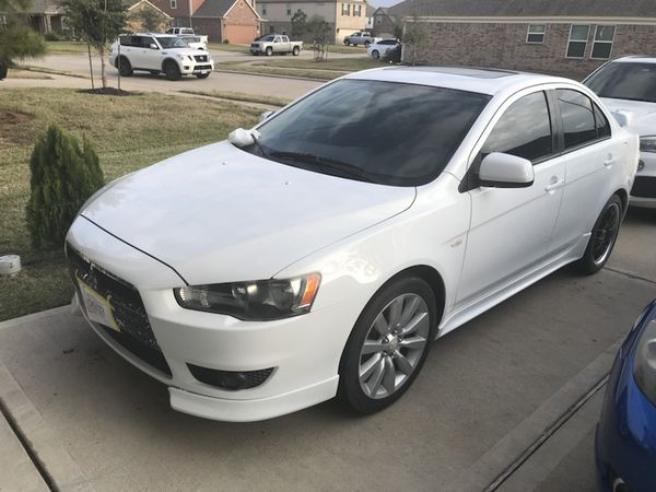 mitsubishi lancer gts 2008 clean title for sale in houston, tx - offerup