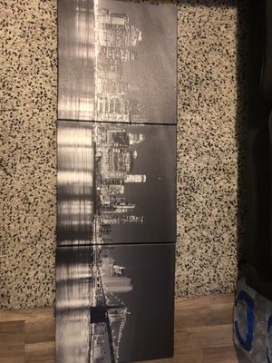 Panoramic NYC Skyline 3 Piece Canvas for Sale in Secaucus, NJ
