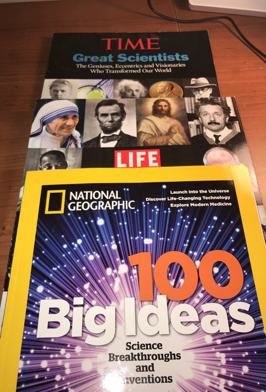 Time, Life, & National Geographic Magazines