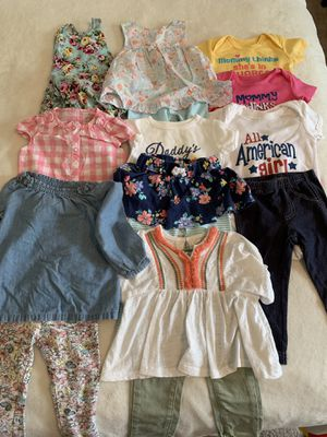9-12 month girl clothing lot for Sale in Fairfax, VA