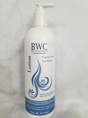 BWC Fragrance Free Hand and Body Lotion 16 oz for Sale in Seattle, WA