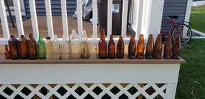 Antique bottles - coke, Budweiser and others for Sale in Winchester, MA