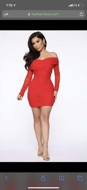 Sexy red fashion nova cocktail dress for Sale in Lake Worth, FL
