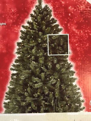 Christmas Tree 7.5 ft. Pre-Lit LED Wesley Spruce with Color Changing Lights for Sale in Tempe, AZ