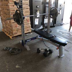 Weight Bench Press Set Delivery Available for Sale in Dallas,  TX