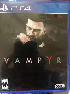 Vampyr ps4 for Sale in Las Vegas, NV