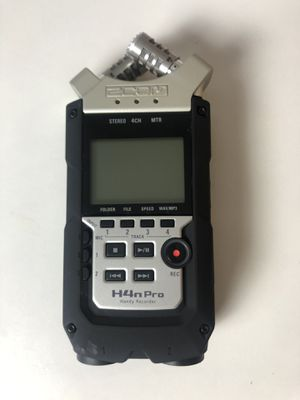 Zoom H4n Pro Audio Recorder for Sale in Los Angeles, CA