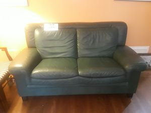 Free leather sofa and chair for Sale in Piedmont, CA