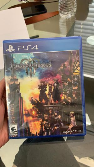 KINGDOM HEARTS III PLAYSTATION 4 for Sale in Hialeah, FL