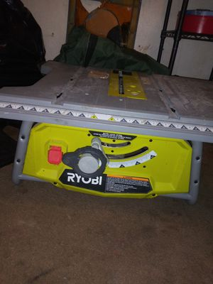 Ryobi table saw 10inch 15amp for Sale in Murray, UT