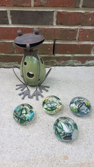 Frog Votive Candle Holders for Sale in Falls Church, VA