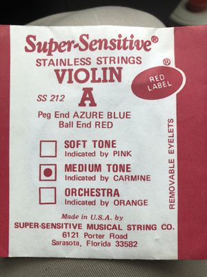 7 Violin strings .. for Sale in Durham, NC