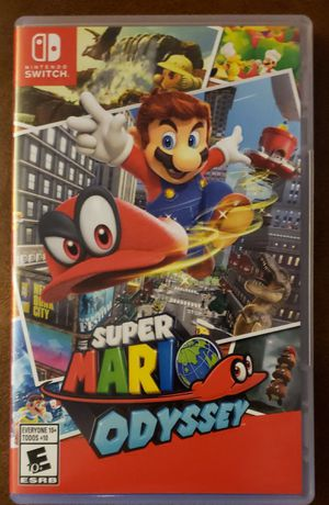 Super Mario odyssey for Nintendo switch for Sale in Whiting, IN