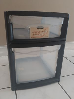 Slimline Plastic Storage Drawer 20 inches Tall 15. Inches Wide for Sale in Deerfield Beach, FL
