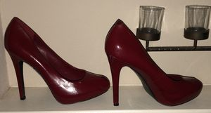 Red Jessica Simpson shoes ( heels) size 9.5 for Sale in Austin, TX