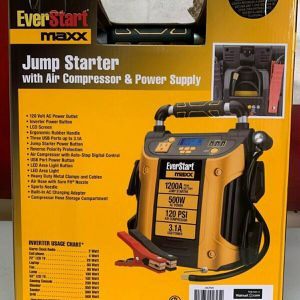 New EverStart Jump Starter With Air Compressor And Power Supply for Sale in Chester, VA