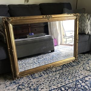 Antique/Vintage Gold Intricate Mirror from the Home Advantage for Sale in Hollywood, FL