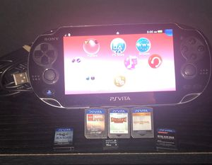 Ps Vita With Charger, Memory Card And 1 Game $140 for Sale in Corpus Christi, TX