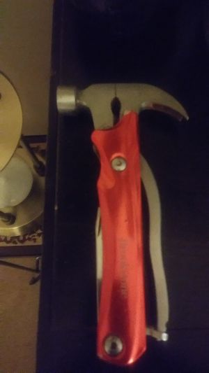Brookstone multitool hammer and 6 other tools in one for Sale in Long Beach, CA