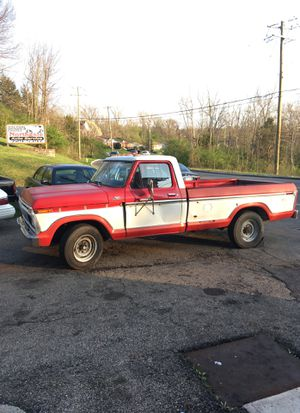 Ford F-250 ranger 1977 for Sale in Groesbeck, OH