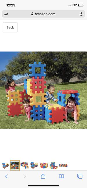 Little Tikes Waffle Blocks (4 sets) for Sale in Yuma, AZ