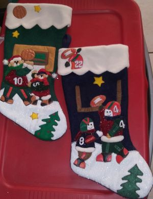 2 FOR $7.00 CHRISTMAS STOCKINGS🎅🎄⛄ for Sale in Glendale, AZ