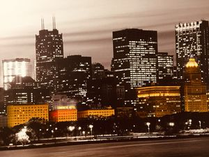 Chicago skyline for Sale in Park Forest, IL