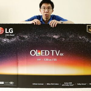LG 55 inch OLED 4K TV B7 Oled55b7p Black Friday sale for Sale in Jurupa Valley, CA
