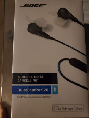Brand new Bose QuietComfort 20 Acoustic Noise Cancelling for Sale in Hamilton Township, NJ