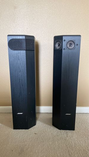 Bose 501 series V tower speakers left right for Sale in Richmond, TX