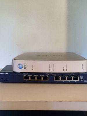 Netgear 8 port gigabit smart switch for Sale in Houston, TX