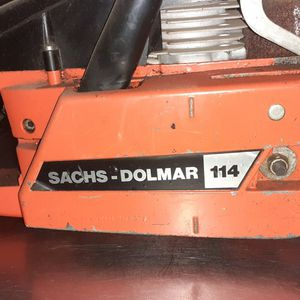 Sachs-Dolmar 114 Chainsaw for Sale in Tacoma, WA