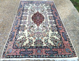 PERSIAN KERMAN HAND KNOTTED RUG – 5.6 x 9.4 for Sale in Glen Allen, VA