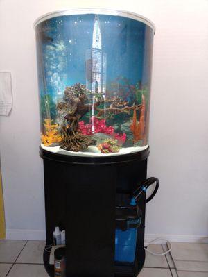 40 gallon Aquarium & Filter for Sale in Sugar Land, TX