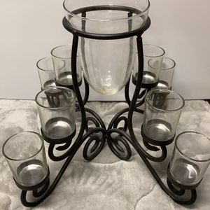 Flower And Candle Holder for Sale in Westford, MA