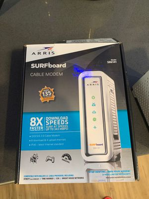 Arris surfboard cable modem sb6141 for Sale in Riverside, CA
