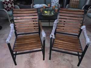 Hampton Bay patio chairs for Sale in Claremont, CA