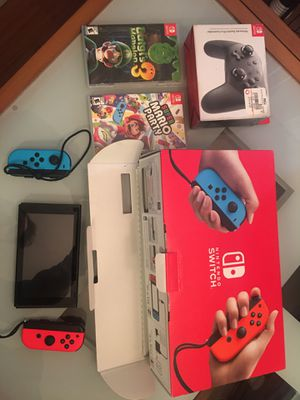 Nintendo Wii, Mint Condition, Original Packaging, Additional Accessories, Luigis Mansion, Super Mario Party. for Sale in Dublin, CA