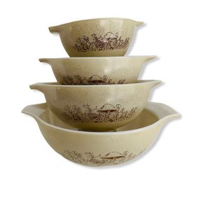 Vintage Pyrex Forest Fancies Mushrooms Glass Bowls for Sale in Dacula, GA
