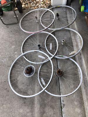 Spare random bike wheels. for Sale in Port St. Lucie, FL
