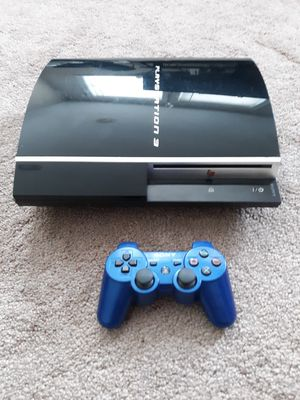 Jailbroken ps3 with 320gb hdd loaded with 4000 psp/ps1/ps2 games and retro games for Sale in Exeter, PA