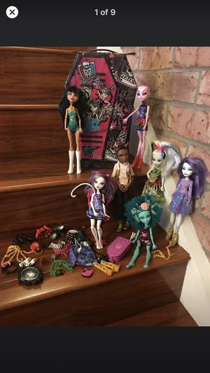 Monster High Dolls and Accessories Case for Sale in Union City, CA