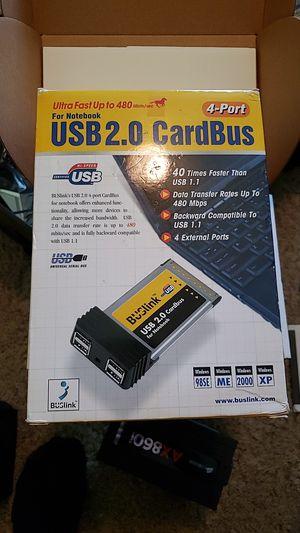 BUSLINK USB 2.0 cardbus for Sale in Jacksonville, FL
