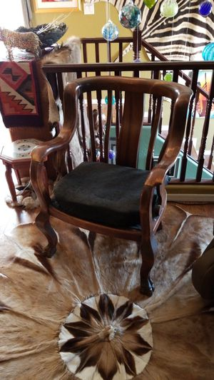 Antique mahogany chair for Sale in Laveen Village, AZ