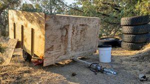 Utility trash trailer for Sale in IL, US