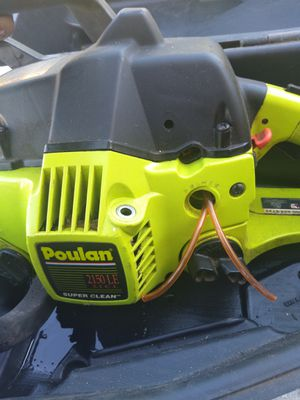 14'Poulan chain saw for Sale in San Diego, CA