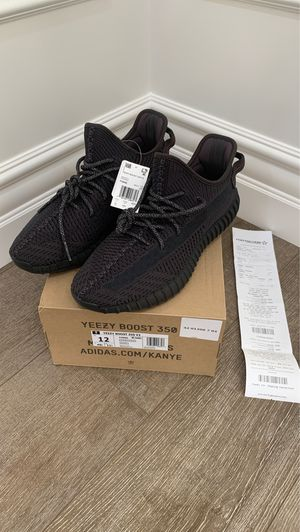 Brand New (Tags Attached) 100% Authentic Adidas Yeezy Boost 350 V2 'Black Non-Reflective' – SKU # FU9006 – Size: 12.00 US for Sale in Mission Viejo, CA