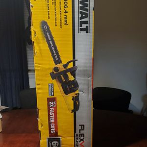WALT 16 in. 60V MAX Lithium-Ion Cordless FLEXVOLT Brushless Chainsaw tool only for Sale in Gaithersburg, MD
